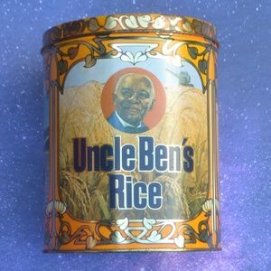 Vintage 1983 Uncel Ben's Rice Tin Canister